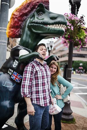 Matt & Lauren Dino