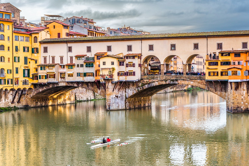意大利佛罗伦萨(Florence),桥的文化