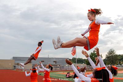 Frosh Cheer at Washington Lee Football Game 9/20/16