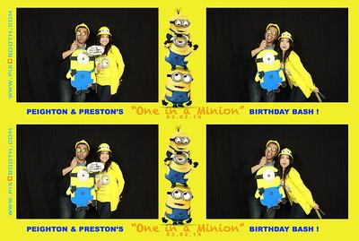 3-2-2014 Preston's Minion Party
