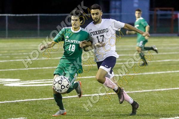 Canton-Foxboro Boys Soccer - 10-24-17