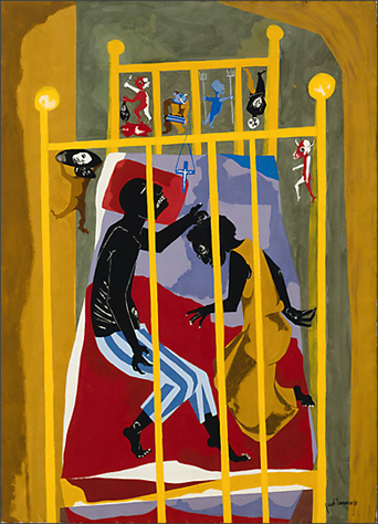 "Jacob Lawrence, ""Dreams No. 1,"" 1965"