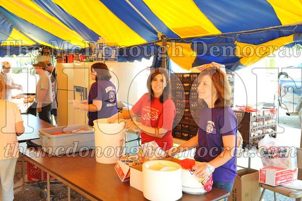 Lions, Rotary, Pie&Cake, 4H 08-28-10