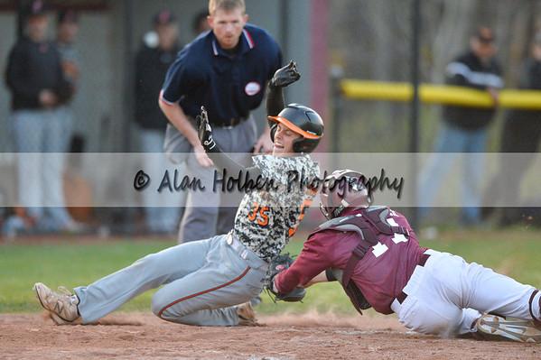 Varsity Baseball - Jackson at Okemos