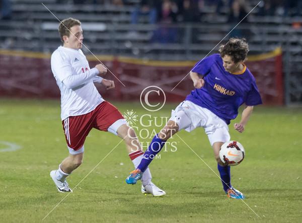 2015-02-09 Soccer Kinkaid @ St. John's
