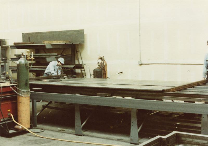 Corrugating the sides for Front Loader