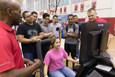 Socorro High School Lockheed Martin Visit