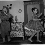 "1958  "" Batata"" Aires Marques e Lisa Teixeira"