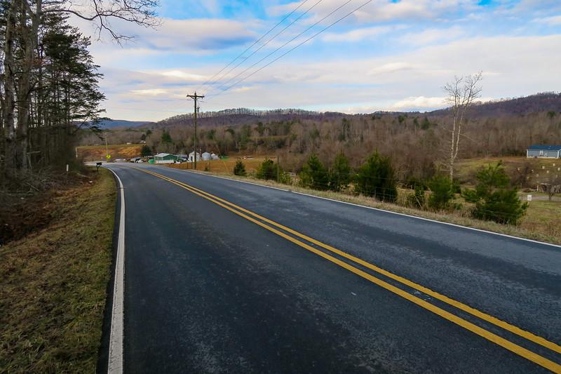 Traphill Road -- 1,350'