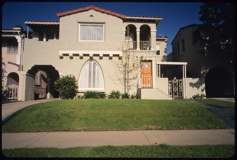 Multi-dwelling units along Hayworth Avenue, Los Angeles, 2005