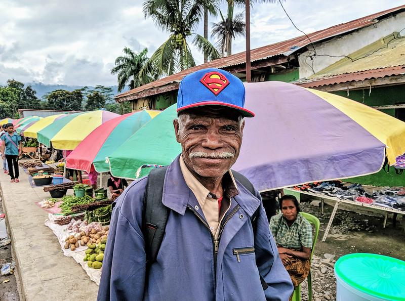 Travel to East Timor - man in Gleno