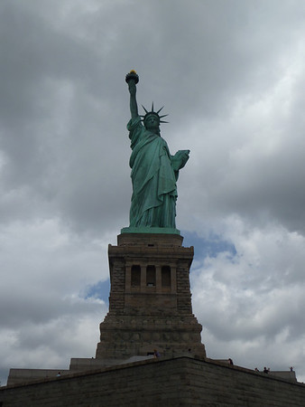 Statue of Liberty - 4 July '13