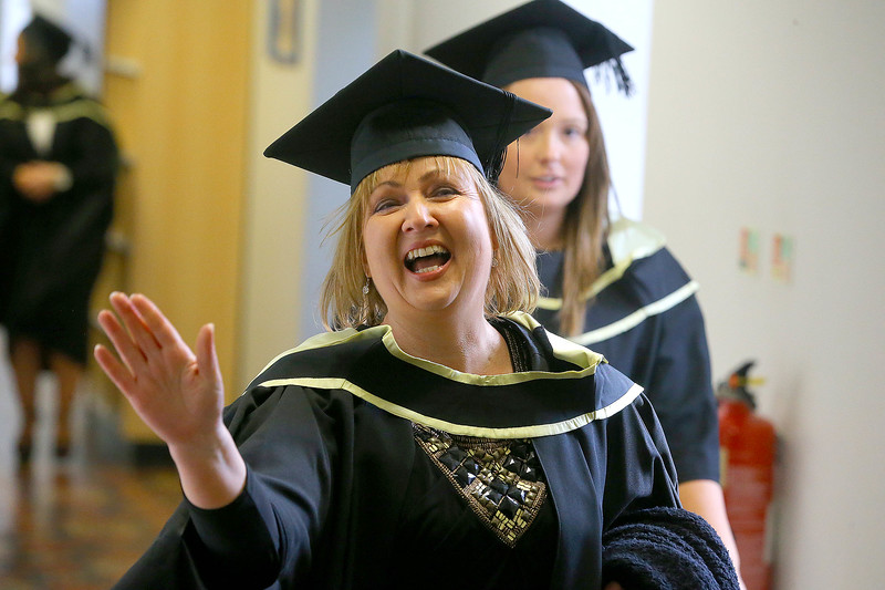 Waterford Institute Of Technology Conferring. Pictured at WIT Waterford Institute Of Technology Conferring is Joan Mangan, Waterford who graduated Master of Business. Picture: Patrick Browne
