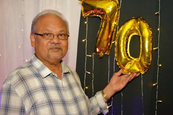 Dereck's 70th Birthday Party