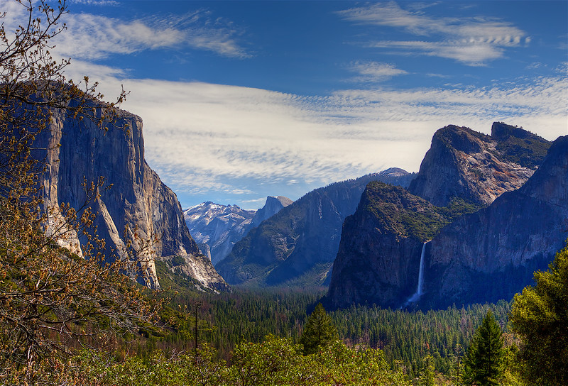 YOS-180425-0001 Yosemite Valley from Tunnel View 1