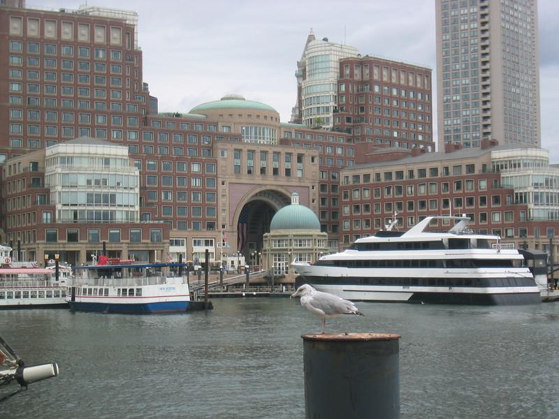 Rowes Wharf. Boston