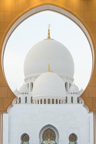 Genevieve Hathaway_Abu Dhabi_Grand Mosque_Doorway and Domes.jpg