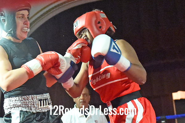 Bout 9 Cheyanne King, Empire BC, Cleveland -vs- Mariana Rosado, MJ Zone Rec, Cleveland, 141 lbs, Female