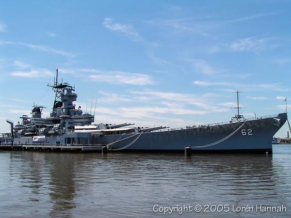 USS New Jersey - Camden, NJ