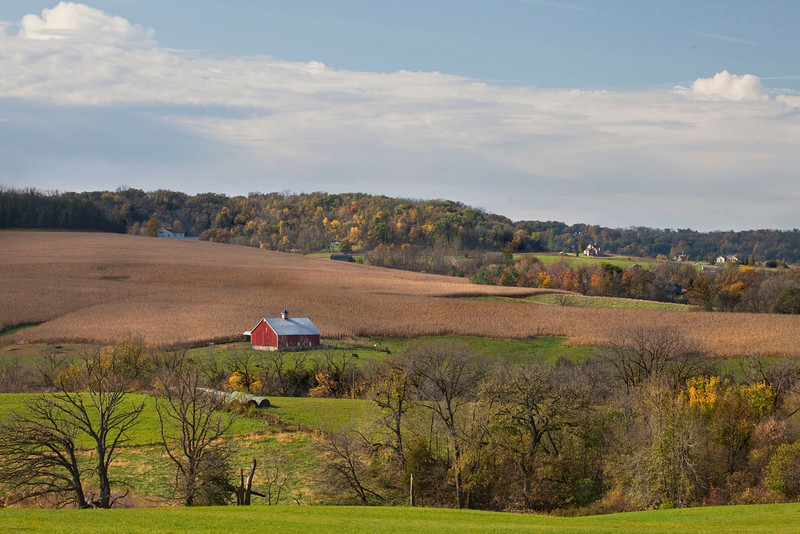 Illinois farm scene 1