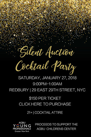 AGBU YPGNY Silent Auction 2018
