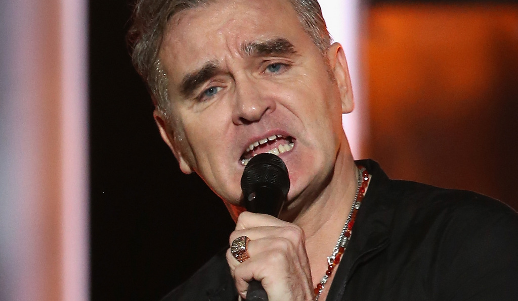 . Morrissey, The Smiths frontman who made whining fashionable, is 56. (Chris Jackson/Getty Images for Nobel Peace Prize Concert)