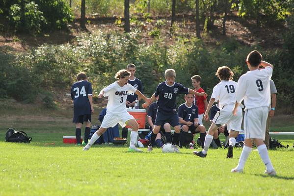 TRHS Freshman Team vs Exeter - Sept 17, 2014