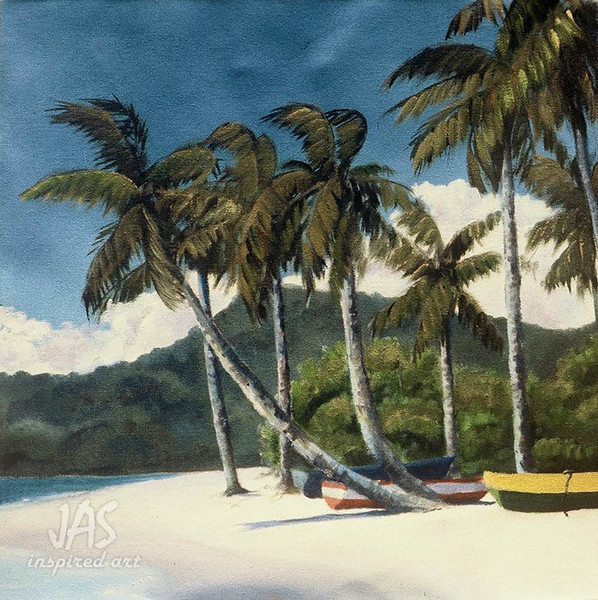 Grenada Beach Boats
