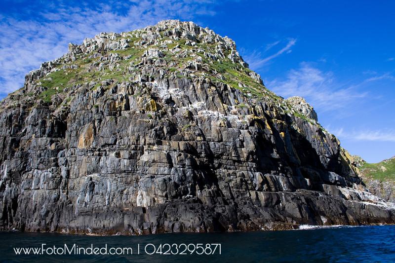 Cliff of Bruny Island, Tasmania, Australia