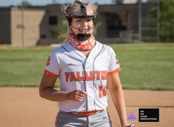 Fallston Softball Senior day 2021