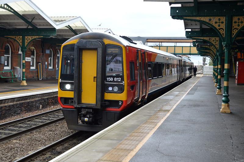 158812 Heads to Peterborough.
