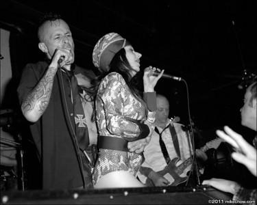 LGA/Living Deadbeats/Motorama/East Vamps/Shockload, July 8, 2011