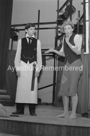 Sweeney Todd play at Grange County Secondary School, Dec 10th 1980