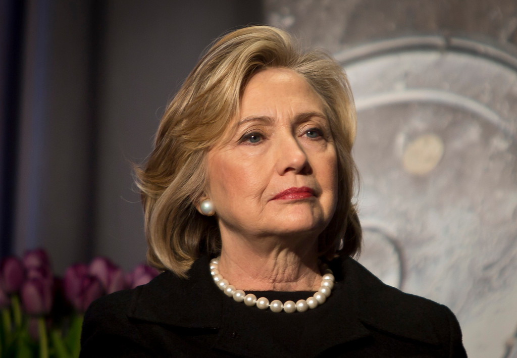 . FILE - In this Friday, Nov. 21, 2014, file photo, Hillary Rodham Clinton is seen in New York. Hillary Rodham Clinton has so far kept a low profile this year, something that�s starting to change as she heads toward her expected 2016 campaign for president.  (AP Photo/Bebeto Matthews, File)