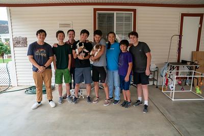2019-09-28 Foxpointe Puppy Visit