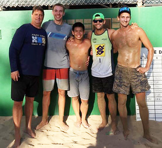 24th Annual Daddy Haine 4-Man Volleyball Tournament 9-3-2017