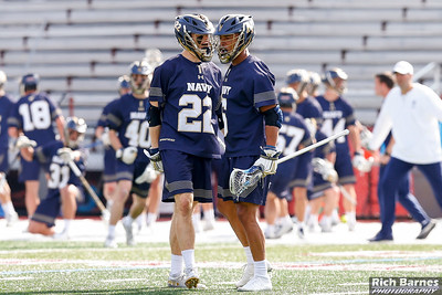 NCAA MLax: Navy at Colgate; 4/6/19