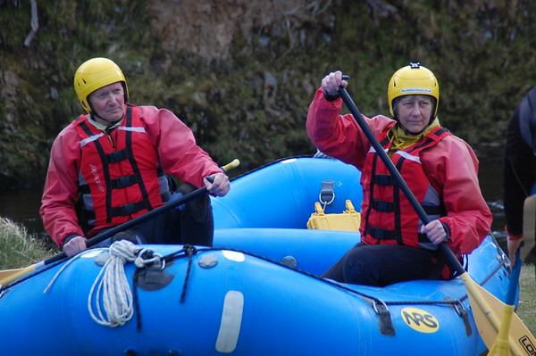 3rd of April  Half day Rafting with Ace Adventure