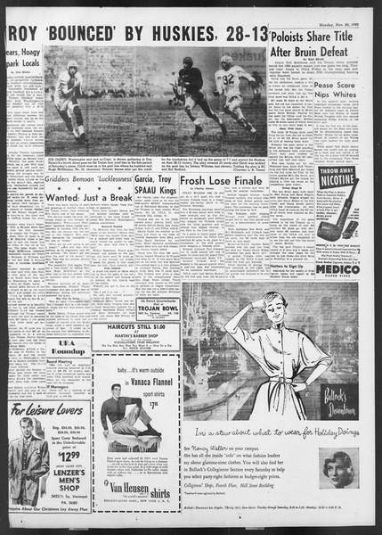 Daily Trojan, Vol. 42, No. 45, November 20, 1950
