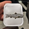 3.00ctw Art Deco Diamond Fish Brooch 0