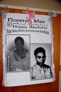 Happy 80th Birthday Florence Mae April 26, 2014