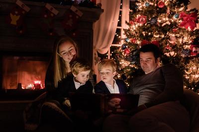 Merry Xmas - Carina + Tiago + Santiago + Salvador