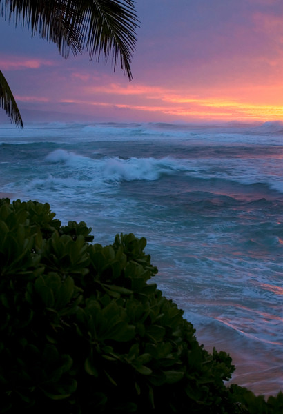 Stormy sunset  North Shore