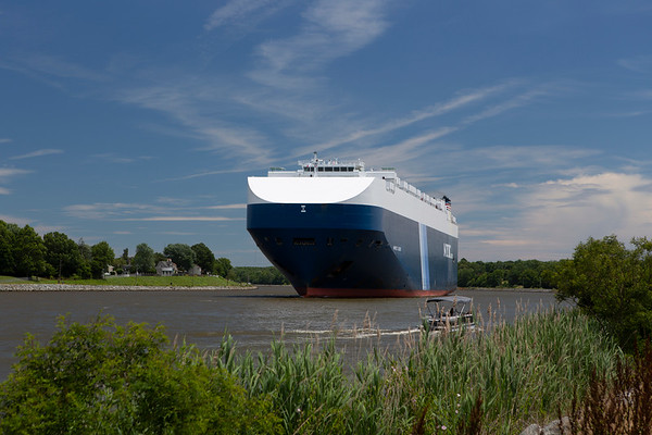 2019 Car Carrier on the Chesapeake and Delaware Canal