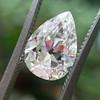 2.01ct Antique Pear Shape Diamond GIA G VS1 26