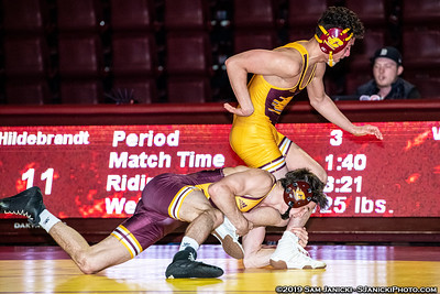 125-157lbs - Central Michigan Maroon & Gold Intrasquad - 10-28-19