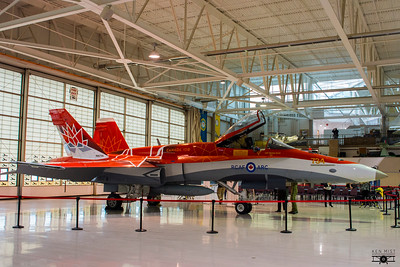 CF-18 Demo Hornet Canada150 in Hamilton