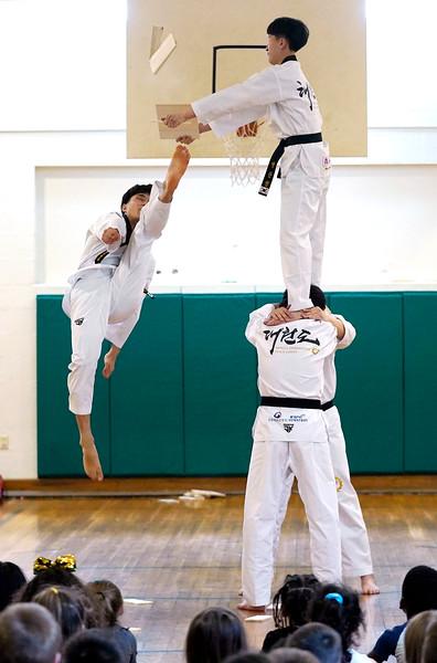Taekwondo Demonstration - 031819