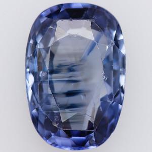 6.12 Post consumer antique blue Sapphire cushion (pcs-a025)