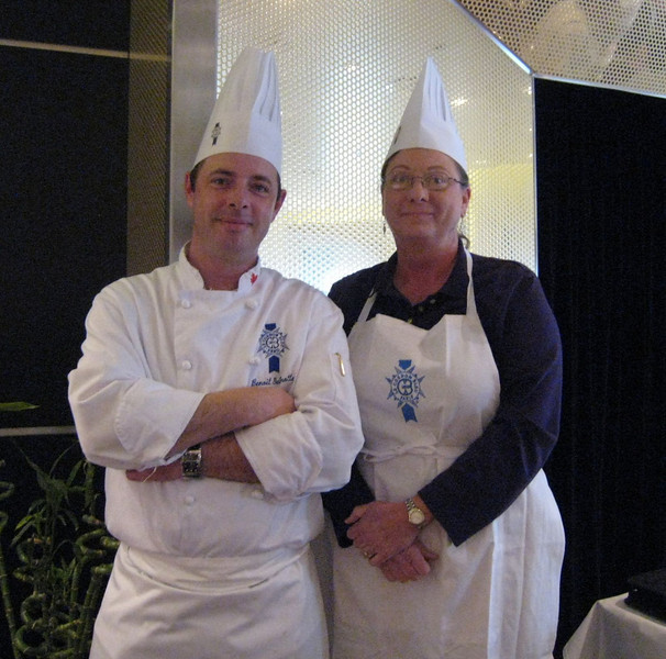 Chef Benoit and Me at Cooking Class